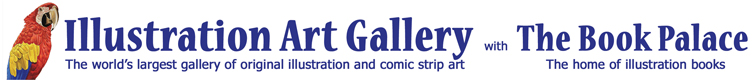 The Illustration Art Gallery and The Book Palace for original illustration art and prestigious illustrated books