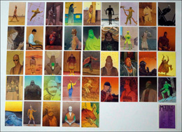 Moebius Trading Cards - Complete Set