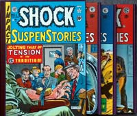The Complete EC Library: Shock Suspenstories  (3 Volume Boxed Set)