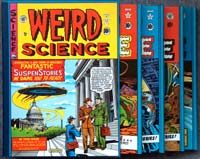 The Complete EC Library: Weird Science (4 Volume Boxed Set)